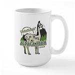 Alpaca Farm Large Mug