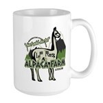 Alpaca Farm Large Mug