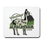Alpaca Farm Mousepad