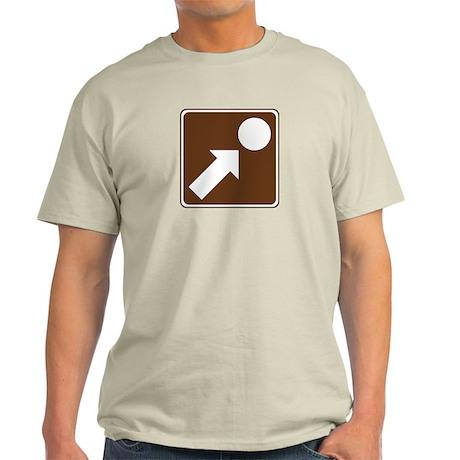 Point Of Interest Sign Light T-Shirt