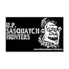 U.P. SASQUATCH HUNTERS - 20x12 Wall Peel