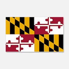 Maryland State Flag 20x12 Wall Peel