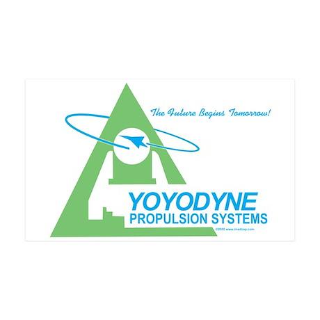 Yoyodyne Propulsion Systems 35x21 Wall Peel