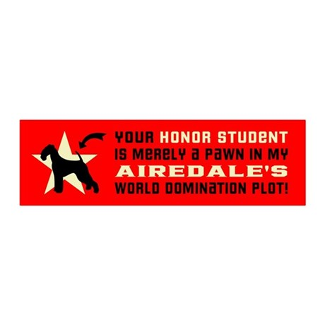 AIREDALE World Domination 20x6 Wall Peel