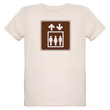 Elevator Sign T-Shirt