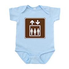 Elevator Sign Infant Bodysuit