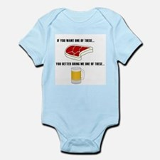 Cute Grilling Infant Bodysuit