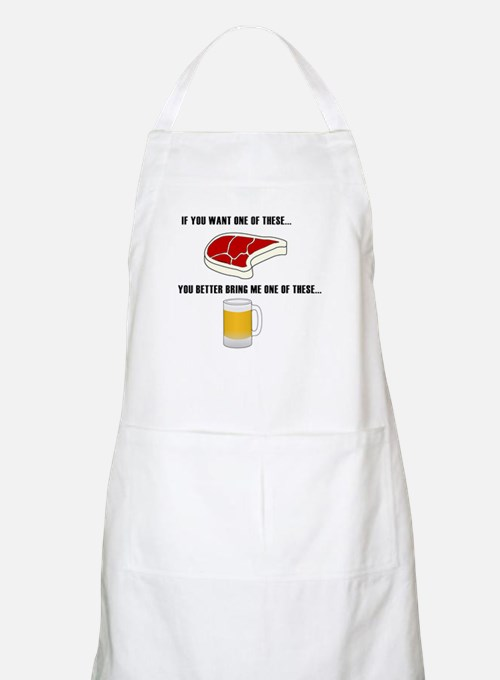 Cute Beer grilling Apron