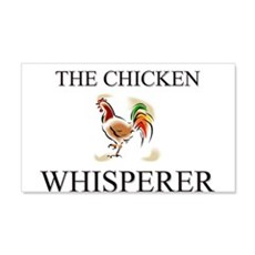 The Chicken Whisperer 20x12 Wall Peel