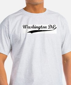 Vintage Washington D.C. Ash Grey T-Shirt