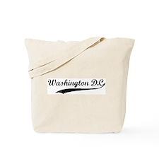 Vintage Washington D.C. Tote Bag