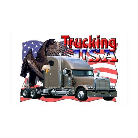 Trucking USA 35x21 Wall Peel