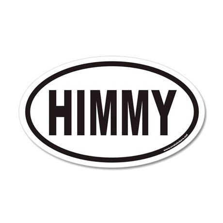 HIMMY Euro 35x21 Oval Wall Peel for Himalayan Cats