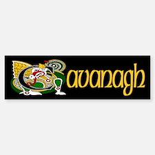 Cavanagh Celtic Dragon Bumper Bumper Sticker