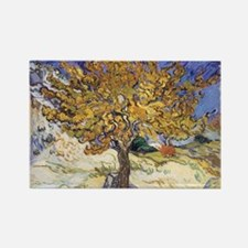 Mulberry Tree, 1889 by Vincent Van Gogh Magnets