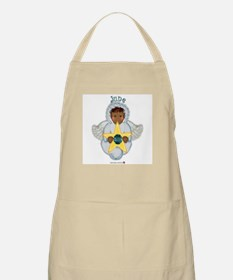 June Baby Angel Birthstone BBQ Apron