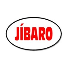 JIBARO... 35x21 Oval Wall Peel
