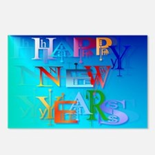 Happy New Years Postcards (Package of 8)