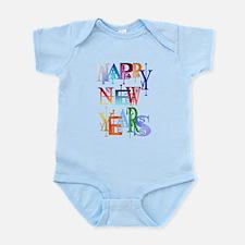 Happy New Years Infant Bodysuit