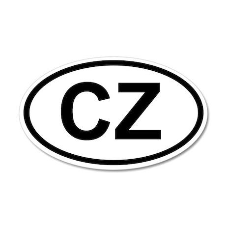 CZ 20x12 Oval Wall Peel