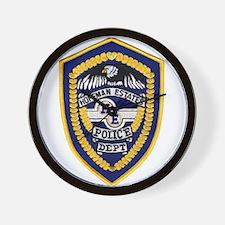 Hoffman Estates Police Wall Clock