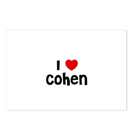 I * Cohen Postcards (Package of 8)