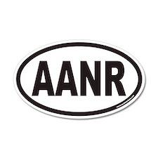 AANR Euro 20x12 Oval Wall Peel
