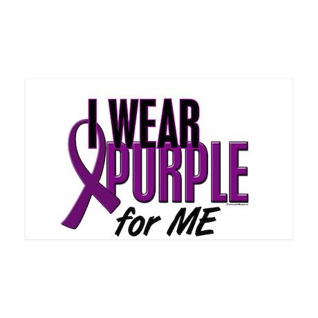 I Wear Purple For ME 10 35x21 Wall Peel