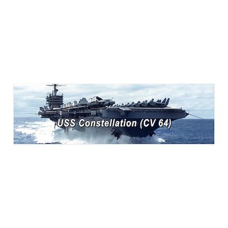 USS Constellation 20x6 Wall Peel