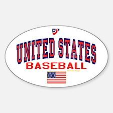 United States(USA) Baseball Decal