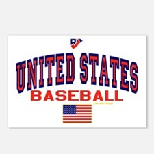 United States(USA) Baseball Postcards (Package of