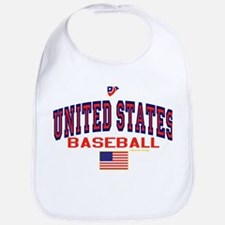 United States(USA) Baseball Bib