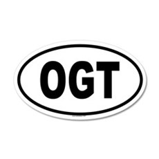 OGT 20x12 Oval Wall Peel