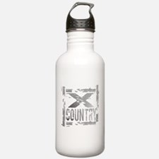 Cross Country Grunge Water Bottle