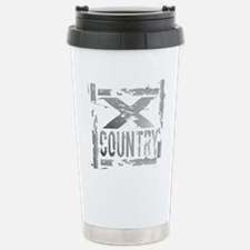 Cross Country Grunge Stainless Steel Travel Mug