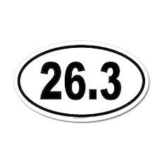 26.3 20x12 Oval Wall Peel