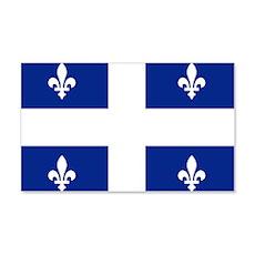 Quebec Flag 20x12 Wall Peel