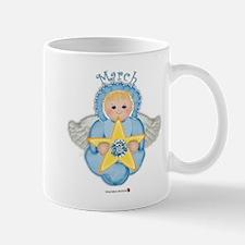 March Baby Angel Birthstone Mug