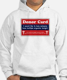 Orgasm Donor Jumper Hoody