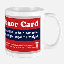 Orgasm Donor Mug