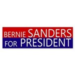 Bernie Sanders for President bumper sticker