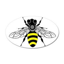 HONEYBEE 20x12 Oval Wall Peel