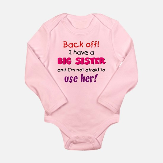 Have a big sister Baby Outfits