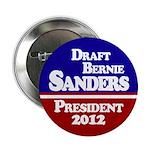 Draft Bernie Sanders 2012 Button