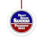 Draft Bernie Sanders Christmas Ornament