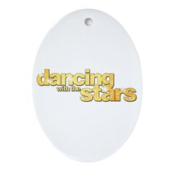 DWTS Logo Ornament (Oval)