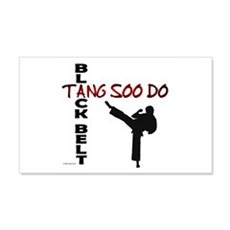 Tang Soo Do Black Belt 2 20x12 Wall Peel