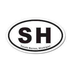 South Haven SH Euro 20x12 Oval Wall Peel