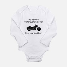 My Daddy's Motorcycle Long Sleeve Infant Bodysuit