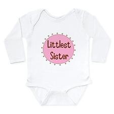 Littlest Sister Long Sleeve Infant Bodysuit